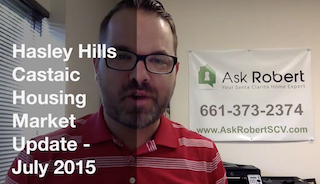 Castaic home market at Hasley Hills - July 2015