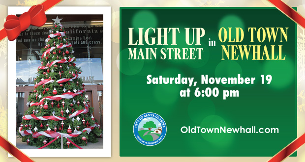 Fun Friday: Light Up Main Street 2016