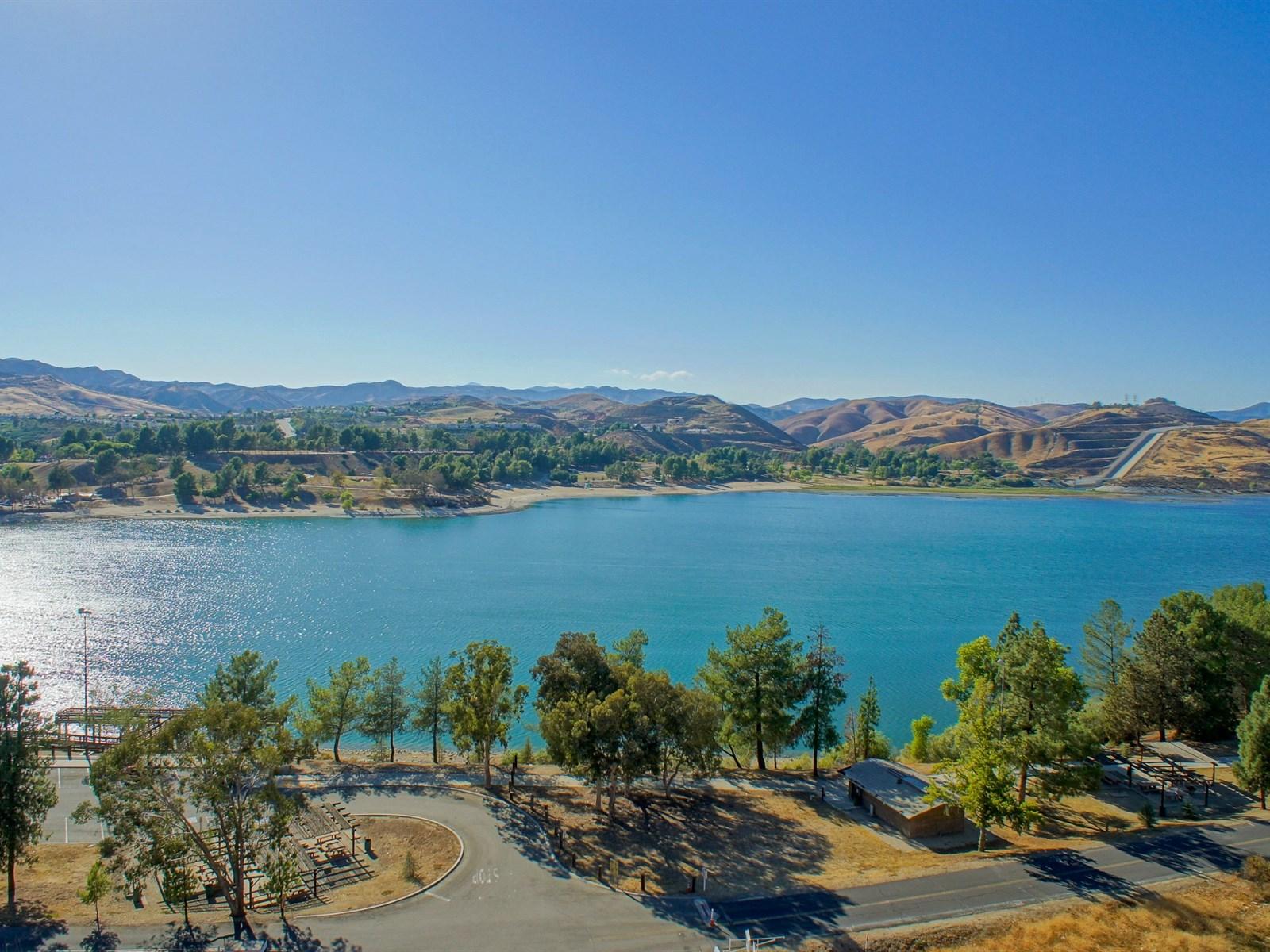 Lower Castaic Lagoon - Castaic Lake Recreation Area